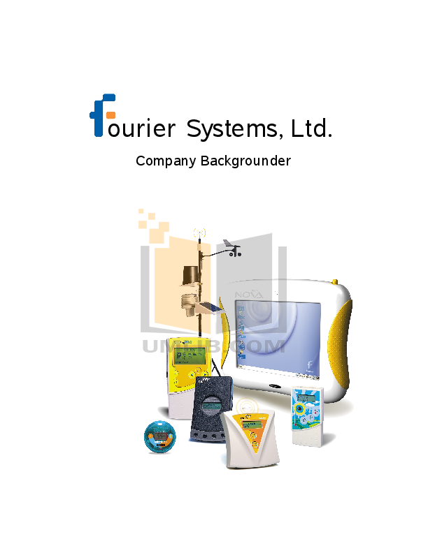 pdf for Fourier Other Weather Station Data Loggers manual